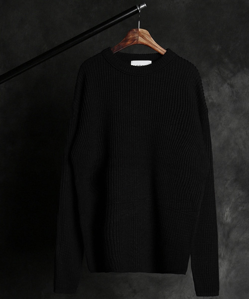 T-17145ACN round neck knit